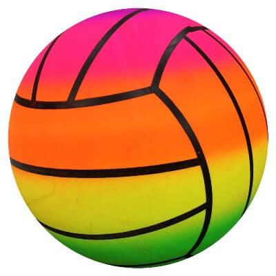 Bensons-Inflatable-Fluoro-Volleyball-Lge-MyLollies