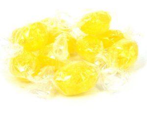 Lemon Sherbet Bombs