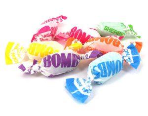 Fruity Sherbet Bombs - Lollies
