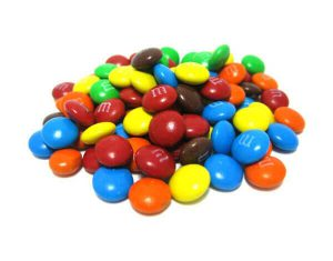 Chocolate M&M's - Lollies