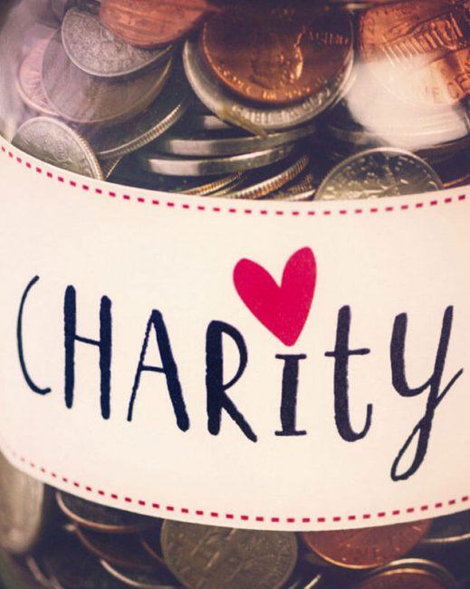 OUR CHARITY COMMITMENT