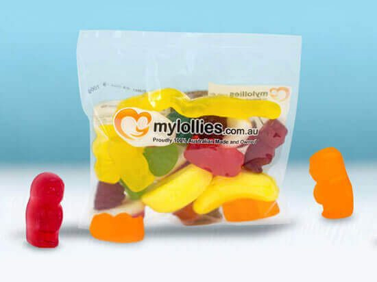 Mini Bags are small bundles of lolly joy!