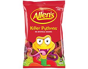 Killer Pythons – Allen's 1kg