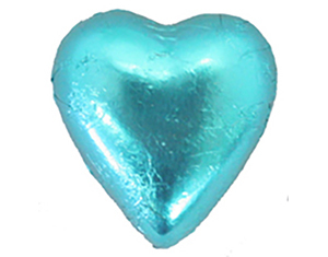 Chocolate Hearts Aqua