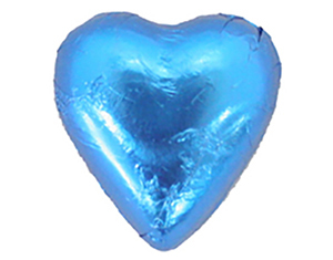 Chocolate Hearts Blue