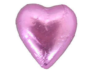 Chocolate Hearts Hot Pink