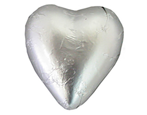 Chocolate Hearts Silver