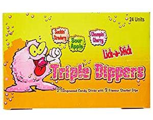 Triple Sherbet Dippers