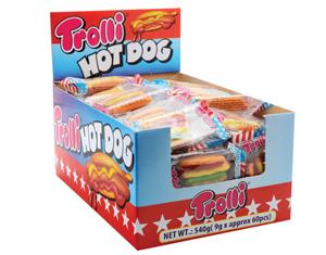 Trolli Hot Dogs