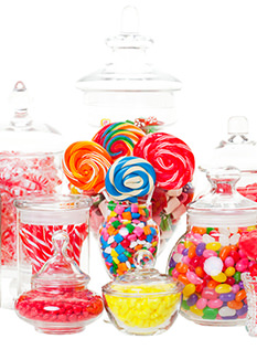 candy buffet lollies