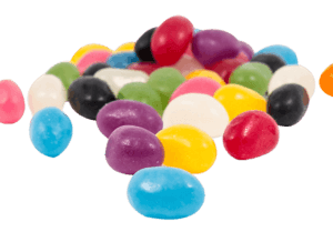 Party mix and Jelly Beans