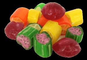 Gummi Bears and Rock Candy