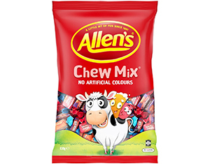 Allens Chew Mix 830g