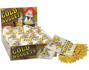 Gold Nugget Lollies 50g