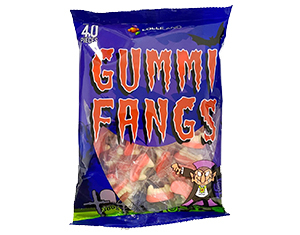 Gummy Fang lollies for Halloween
