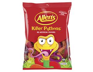 Allen's Killer Pythons 192g