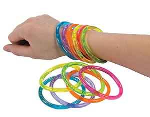 Glitter Water Bracelet