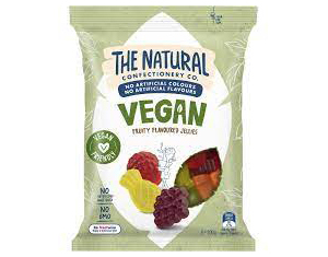 The Natural Confectionery Company Vegan Fruity Lollies