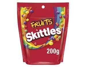 Skittles Fruits 200g