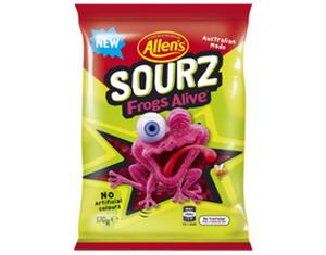 Allen's Sourz Frogs Alive 850g